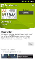 Application Allvmax Android