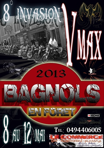 Meeting Vmax Bagnols 2013